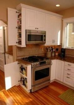 Kitchen Cabinet Ideas - CLICK THE IMAGE for Various Kitchen Ideas. #cabinets #kitchenorganization 45+ Most Popular Kitchen Design Ideas on 2018 & How to Remodeling #kitchenideas #smallkitchenideas #kitchencabinet