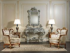 Classic Luxury Living Room Paris Vimercati Classic Furniture