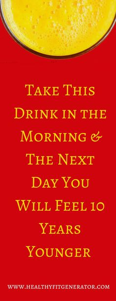 Take This Drink in the Morning & The Next Day You Will Feel 10 Years Younger (Water Filter Raw Honey)