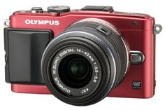 Introducing Olympus Mirrorless SLR EPL6 with M Zuiko Digital 1442mm Lens Red  International Version. Great product and follow us for more updates!