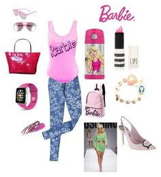 """""""Ballistic Barbie"""" by punkie707 ❤ liked on Polyvore featuring Topshop, Kate Spade, Tarina Tarantino, Wildfox, Galet, Noir Jewelry and Sophia Webster"""