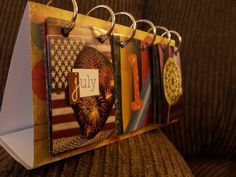 catalog flip calendar - CRAFTSTER CRAFT CHALLENGES