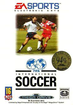 FIFA 94 football Sega Mega Drive #Vintage #Retro