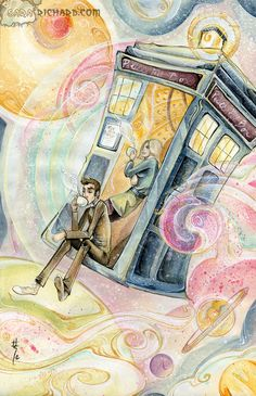 Timey-Wimey Tea Time by SaraRichard.deviantart.com on @deviantART