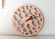 wall clock via etsy