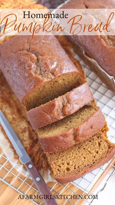 Best Pumpkin Bread Recipe, Pumpkin Spice Bread, Pumpkin Cake Recipes, Pumpkin Waffles, Pound Cake Recipes, Canned Pumpkin, Bread Recipes, Pumpkin Loaf, Moist Pumpkin Bread