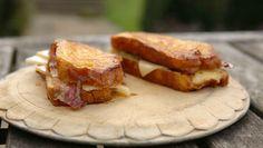 James Martin pancetta brioche sandwich recipe on James Martin: Home Comforts
