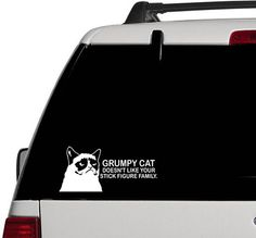 grumpy cat car decal! I want it!!