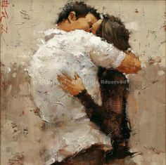 Andre Kohn The Kiss print for sale. Shop for Andre Kohn The Kiss painting and frame at discount price, ships in 24 hours. Kiss Painting, Love Painting, Bel Art, The Kiss, Romantic Paintings, Couple Art, Figurative Art, Love Art, Art Photography