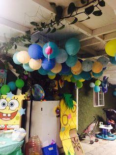 SpongeBob square pants decor