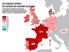 Europa, consumo de Mariguana