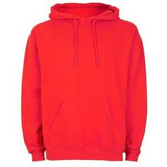 Bright Red Oversized Hoodie ($40) ❤ liked on Polyvore featuring tops, hoodies, red hooded sweatshirt, oversized hoodie, red hoodies, oversized hooded sweatshirt and bright colored tops
