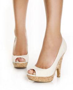 LOVE THESE!  Cork Wedge Heels  $33