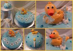 14-07-2012 - Badeend taart