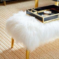 Furry and fabulous. Jonathan Adler