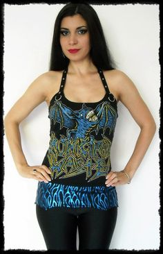 Municipal Waste Corset Top with Hip Accessory Set S/M