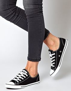 Image 4 of Converse All Star Dainty Ox Trainers eaac545dfe