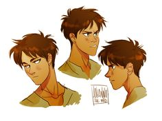 Eren Jaeger by johannathemad on tumblr