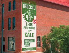 Broccoli vs Kale. So so true