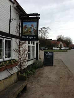 The Bull & Butcher in Turville, Buckinghamshire