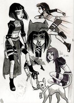 ninja Off by Fukari.deviantart.com on @DeviantArt