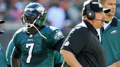 Andy Reid and Michael Vick dealing with the pressure in Philly