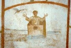 The Christian Catacombs Art Van, Early Christian, Christian Art, Religious Rituals, Greek Culture, Minoan, Light Painting, Archaeology, Art Pictures