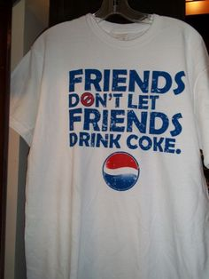 I am definitely in the PEPSI camp (not that I drink much soda any more)