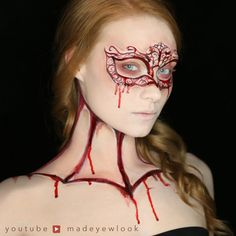 Gothic Romance Carved Mask