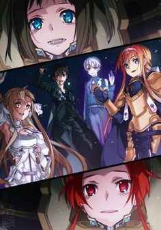 Character design by Shingo Adachi for the Sword Art Online anime. Asuna in Sword Art Online. Sword, Light Novel, Character Design, Online Art, Art, Anime, Anime Characters, Anime Movies, Sword Art