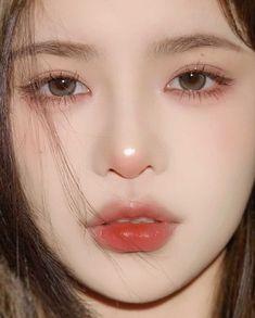 Cute Makeup, Pretty Makeup, Makeup Looks, K Pop, Cute Love Lines, Long Lasting Lipstick, Cute Girl Face, Korean Makeup, Aesthetic Makeup