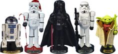 These Star Wars nutcrackers. | 27 Things That Christmas-Obsessed Parents Need Right Now
