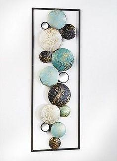 wanddekoration metall abstrakt wandschmuck abstrakt aus metall pinterest wanddekoration. Black Bedroom Furniture Sets. Home Design Ideas