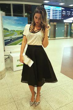 Muito styls #Moda #Divando muito.#SuoerLinda                                                                                                                                                     Mais