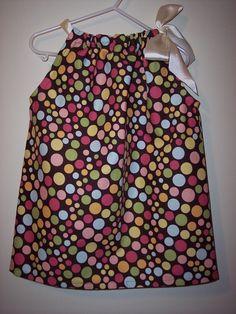 Pillowcase Dress size 1/2 1 2 3 4 FREE Monogram by SewWhatsGoingOn, $20.00