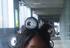 These hair rollers.