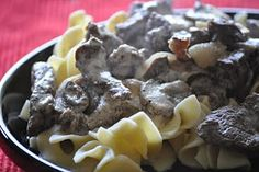 The Food Nanny's Beef Strog recipe
