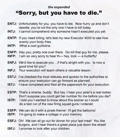 """"""" Look a butterfly """"  This is why I'm in Infp."""