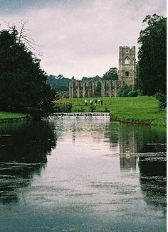 Fountains Abbey. Ripon, North Yorkshire