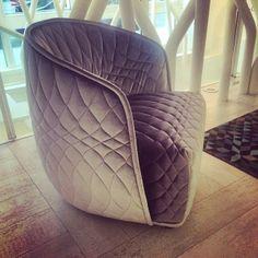 Highlights from Clerkenwell Design Week. #cdw14 #modern #furniture #armchair #design #moroso