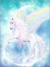 Dolphins DreamDesign - Regenbogen Einhorn Pegasus