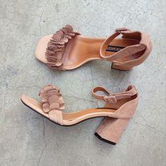 Squared heels. #Zaful