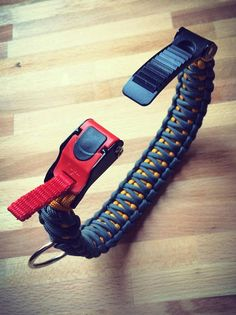Paracord Dog Collar Adjustable by Cobra Band  Double by CobraBand