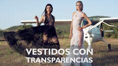 Sensuales vestidos de fiesta con transparencias #trajesdefiesta #vestidosdefiesta #tendencias #moda #trajesdenoche #transparencias