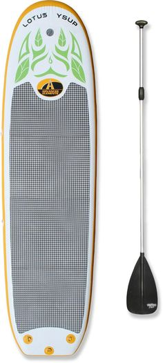 f12ad77d93f Advanced Elements Lotus YSUP Inflatable Stand Up Paddle Board with Paddle