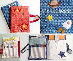 Les sacs artiste, un cadeau homemade pour artistes en herbe | Un peu des étoiles