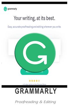 Write your best with Grammarly. Great Apps, Virtual Assistant, Grammar, Writing, Learning, Free, Studying, Teaching, Being A Writer