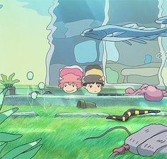 Ponyo (click to have animated gif)