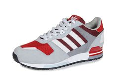adidas Originals ZX 700-University Red-Clear Grey-White