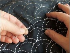 HOW TO - Sashiko Embroidery